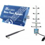 Усилитель сотового сигнала (Репитер GSM900)  (до 150м²)