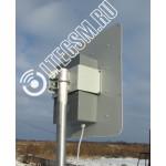 Панельная антенна 4G LTE2600 с боксом AX-2520P MIMO 2x2 Ку 2*20 BIG BOX