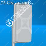 Панельная антенна  3G/4G Nitsa-5F MIMO 2x2 Ку 14,5Дб 75 Om