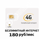 Симкарта Билайн Безлимитный за 180р в месяц