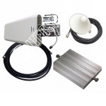 Репитер GSM 4G LTE 1800МГц 3G UMTS 2100МГц сигнала (до 300м²)