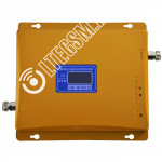 Репитер GSM 3G UMTS сигнала 900МГц 2100МГц (до 300м²) без антенн