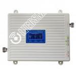 Репитер (только блок) 3G GSM 900Мгц 3G 2100МГц 4G 2600МГц (до 300м²)
