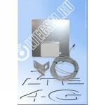 Антенна Панельная 3G/4G Цифриус 2*18Дб UTP Кабель 30М