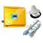 Усилитель сотового сигнала (Репитер 3G 2100МГц) (до 300м²)