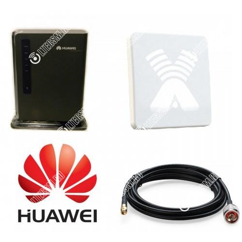 Huawei E5172 c Панельной антенной 3G/4G 20ДБ
