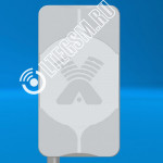 Панельная антенна 2G/3G/4G Agata-2 MIMO 2x2 Ку 15-17Дб