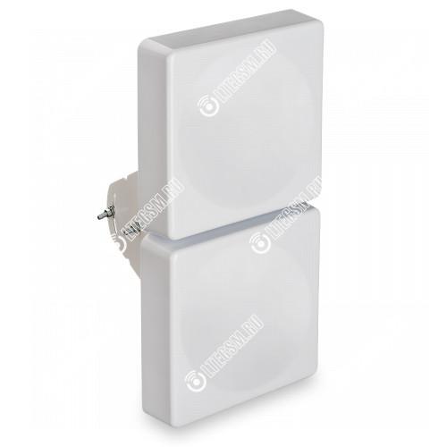 Широкополосная 2G/3G/WiFi/4G MIMO антенна 15 дБ KAA15-750/2900 75 Om