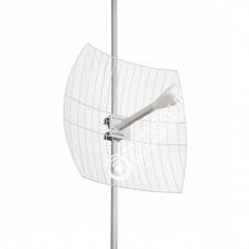 KNA21-1700/2700 - Параболическая MIMO антенна 2*21 дБ Sma-male