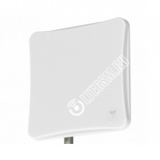 AGATA-F MIMO 2x2 F-female (75 Ом) - широкополосная панельная антенна 4G/3G/2G (15-17 dBi)
