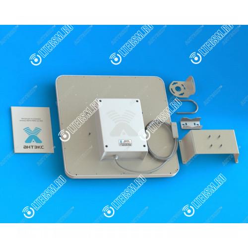 Панельная широкополосная антенна  AGATA MIMO 2x2 BOX с боксом для модема 4G/3G/2G (15-17 dBi)