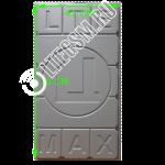 Панельная антенна Цифриус MIMO 3G/4G/LTE 2*28ДБ Печатная плата Медь