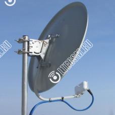 UMO-3 MIMO 2x2 - 4G/3G (LTE1800/DC-HSPA+/LTE2600) офсетный облучатель