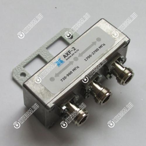 Диплексер частотный AXF-2 для стандартов GSM900/GSM1800/2G/3G/4G/WIFI