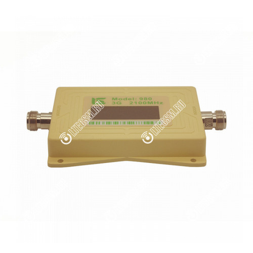 Усилитель (Репитер) 3G сигнала 2100МГц (до 150м²) без антенн