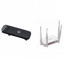 Huawei E3372 с Роутером WiFi 150m2