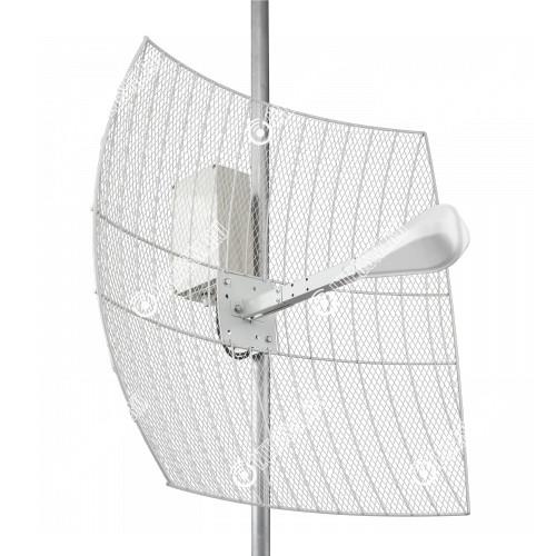 KNA24-1700/2700 BOX CRC9 - параболическая MIMO антенна 24 дБ с гермобоксом