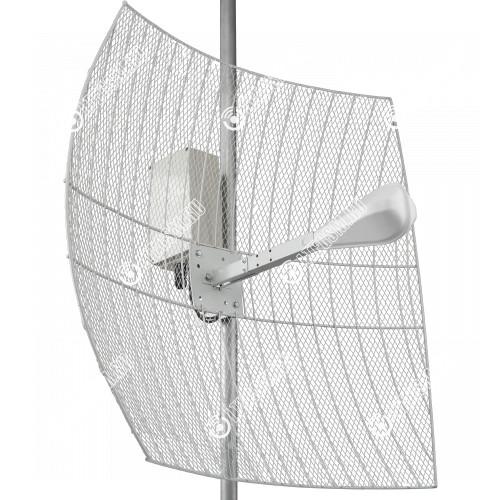 KNA27-1700/2700 BOX CRC9 - параболическая MIMO антенна 27 дБ с гермобоксом