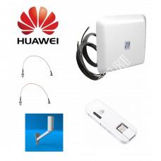 Huawei E8278 c Панельной антенной 3G/4G MIMO 2*15ДБ