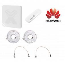 Huawei E8372 c Панельной антенной 3G/4G MIMO 2*17,5ДБ