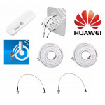 Huawei E8372 c Панельной антенной 3G/4G MIMO 2*15ДБ