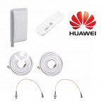 Huawei E8372 c Панельной антенной 3G/4G MIMO 2*14,5ДБ