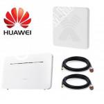 Huawei B535-232 с Панельной Антенной Антекс MIMO 3G/4G До 15КМ