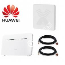 Huawei B535-232 с Панельной Антенной Антекс MIMO 3G/4G 2*20Дб  До 15КМ
