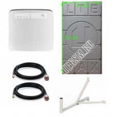Huawei E5186 с Панельной антенной 2*28Дб 3G/4G/LTE Цифриус Медь до 30 КМ