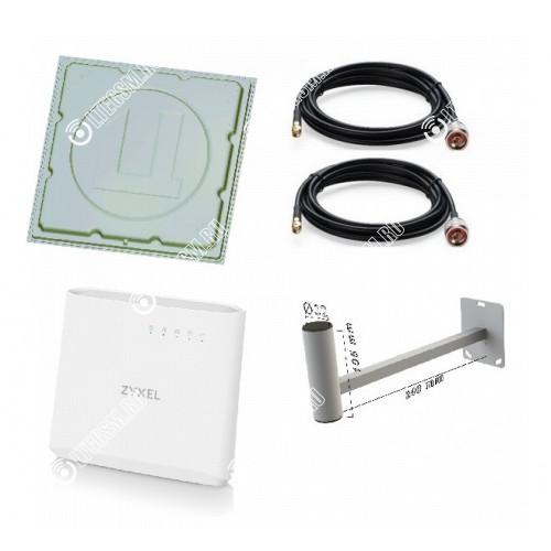 Комплект для Интернета на Дачу Медь 3G/4G/LTE Wifi MIMO