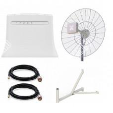 ZTE MF283 с Параболической антенной 2*21Дб 3G/4G/LTE Антекс до 20 КМ