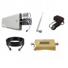 Усилитель сотового сигнала (Репитер 3G 2100МГц) (до 150м²)