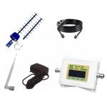 Репитер  GSM LTE 1800 (Усилитель GSM LTE сигнала 1800МГц) до 150м² с Антенной Antex 17ДБ