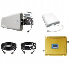 Репитер GSM 3G UMTS LTE сигнала 1800МГц 2100МГц (до 300м²)