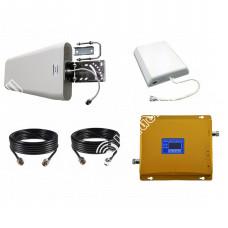 Репитер GSM  900МГц LTE GSM 1800МГц (до 300м²)