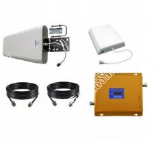 Репитер GSM 3G UMTS сигнала 900МГц 2100МГц (до 300м²)