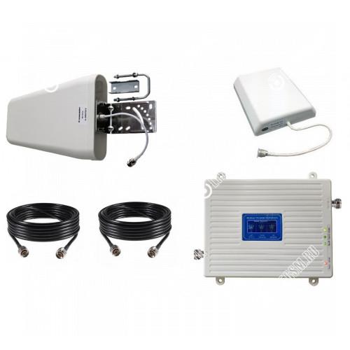 Репитер 3G GSM 900Мгц 3G 2100МГц 4G 2600МГц (до 300м²)
