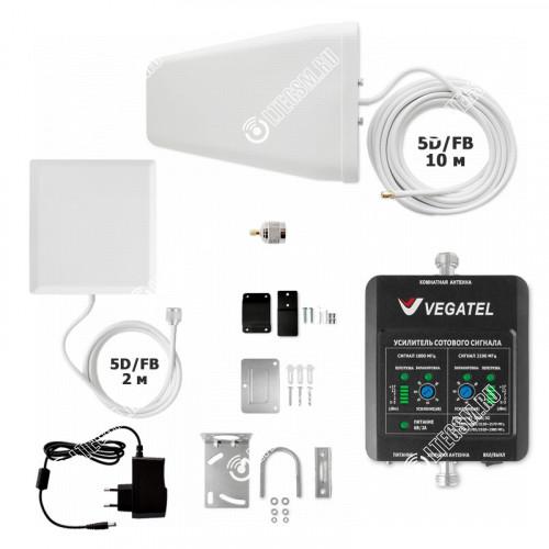 Комплект VEGATEL VT-1800-3G-kit (дом, LED)