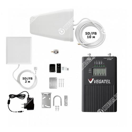 Комплект VEGATEL VT3-900E-1800-3G-kit (дом, LED)