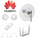 Комплект Vika21 для Интернета с Параболической антенной до 20КМ MIMO 3G/4G LTE  2*21ДБ