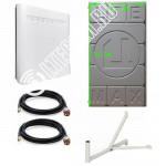 Zte Mf286 с Панельной антенной 2*28Дб 3G/4G/LTE Цифриус Медь до 30 КМ