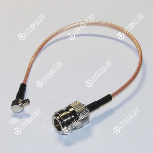 Антенный адаптер (Пигтейл) N-Female-TS9