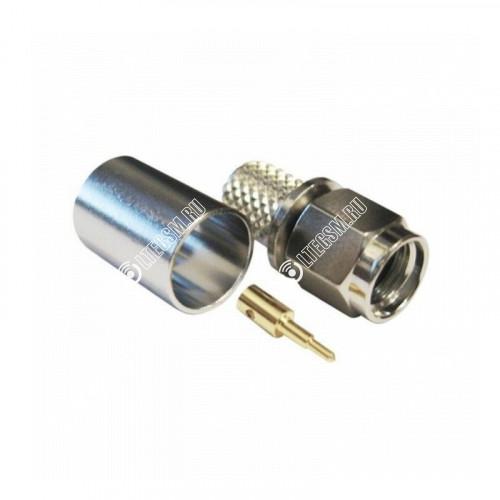 Разъем обжимной S-111 SMA-male на кабель 5D-FB