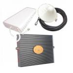 Репитер GSM 3G UMTS сигнала 900МГц GSM LTE 1800МГц 3G UMTS 2100МГц (до 300м²)