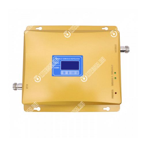Репитер GSM 4G LTE сигнала 900МГц 1800МГц (до 300м²) без антенн