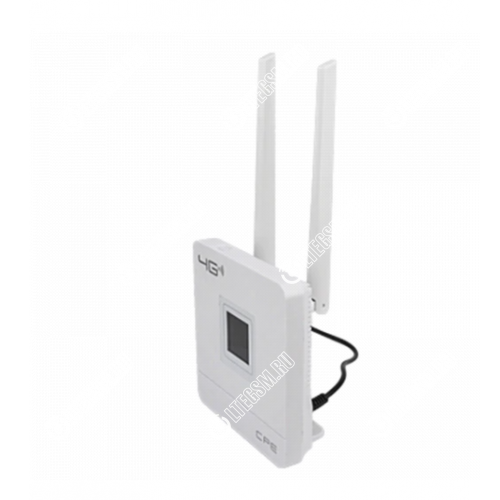 Tianjie CPF903 Роутер 3G/4G WiFi Белый с Антеннами 2*5Дб (Cat.4)