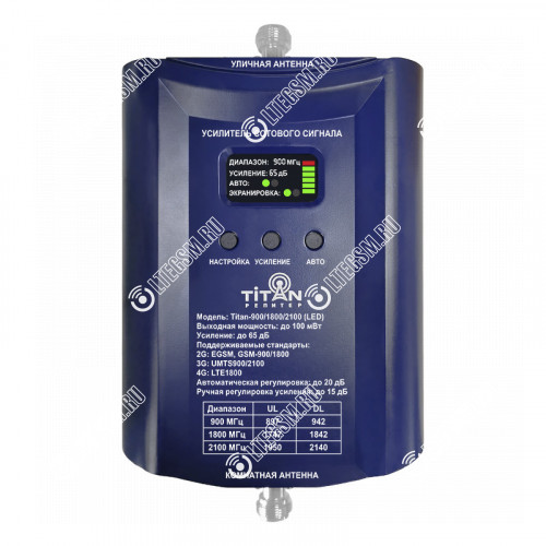 Репитер Titan-900/1800/2100 (LED)