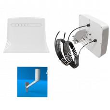 ZTE MF283 c Панельной антенной 3G/4G LTE 800-2700 MIMO